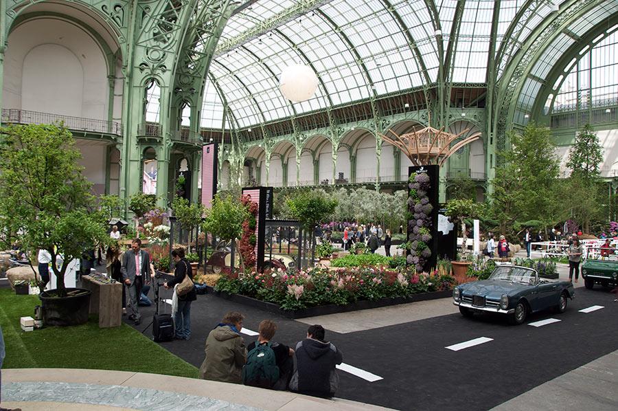 Fondation d 39 entreprise georges truffaut packaging par for Art du jardin grand palais