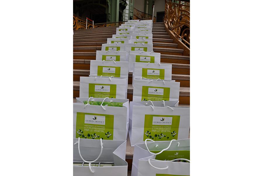 Fondation d'entreprise Georges Truffaut packaging