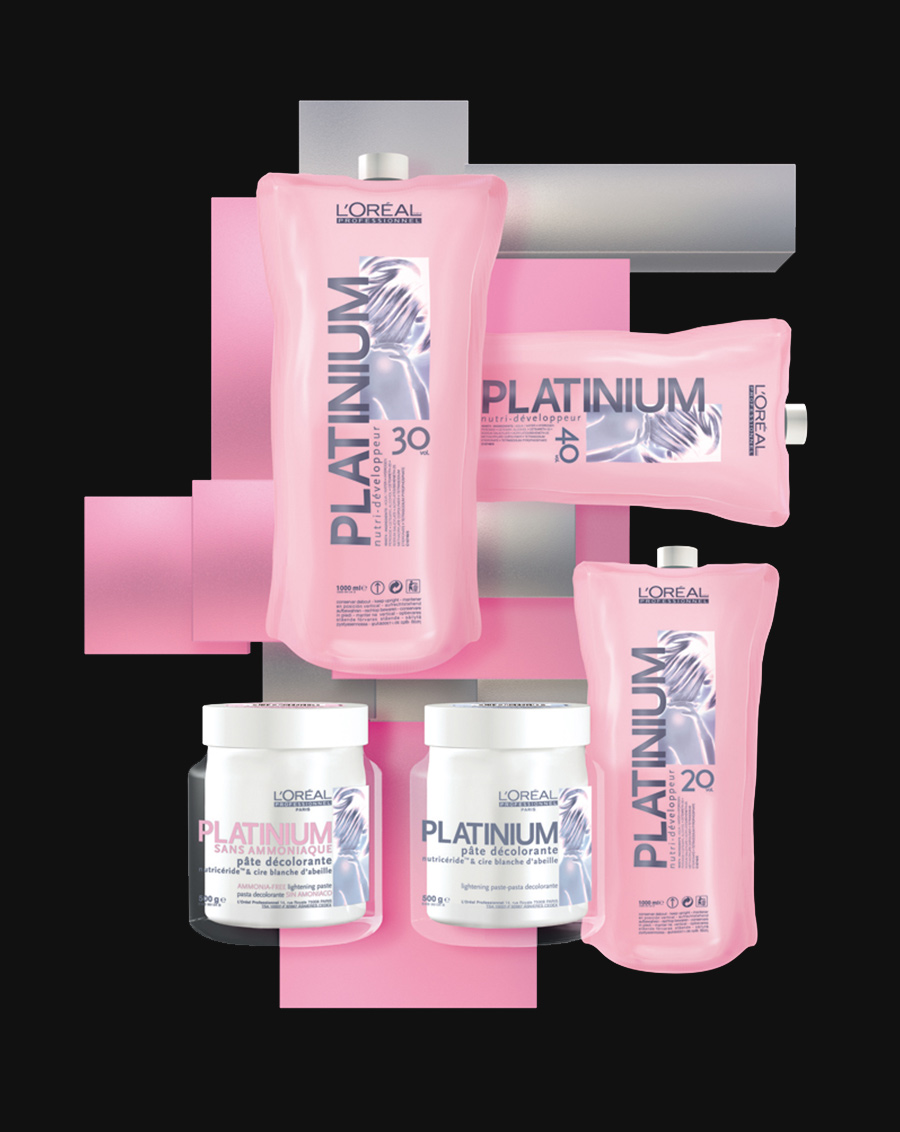 L'Oréal Professionnel Platinium packaging