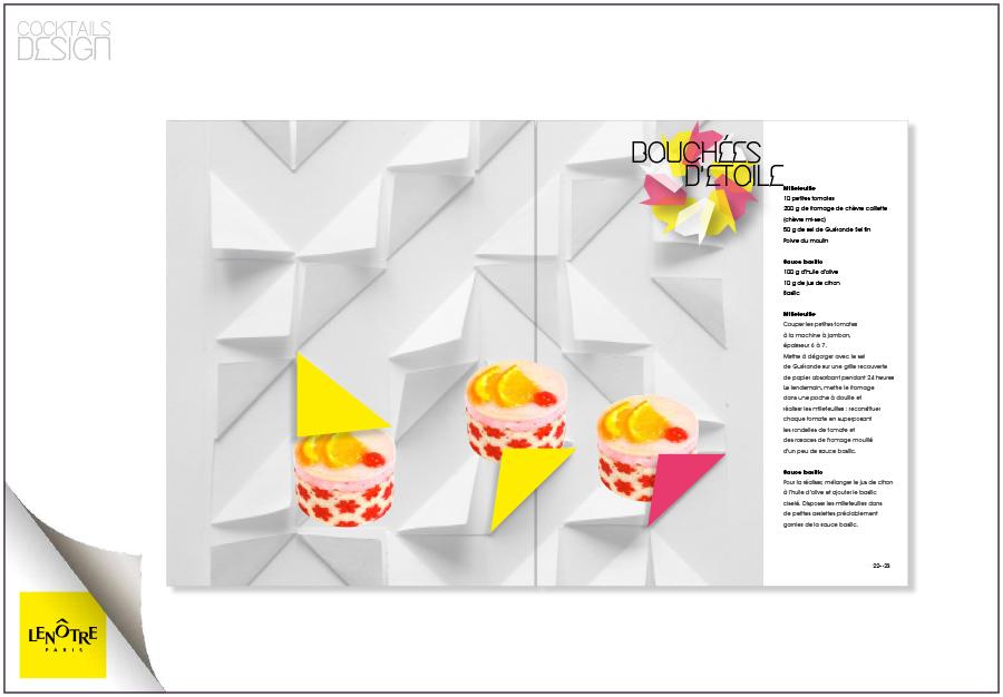 Lenôtre Paris Cocktail Design
