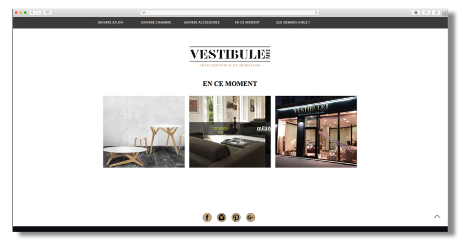 Vestibule Paris Sélecteur de Mobiliers