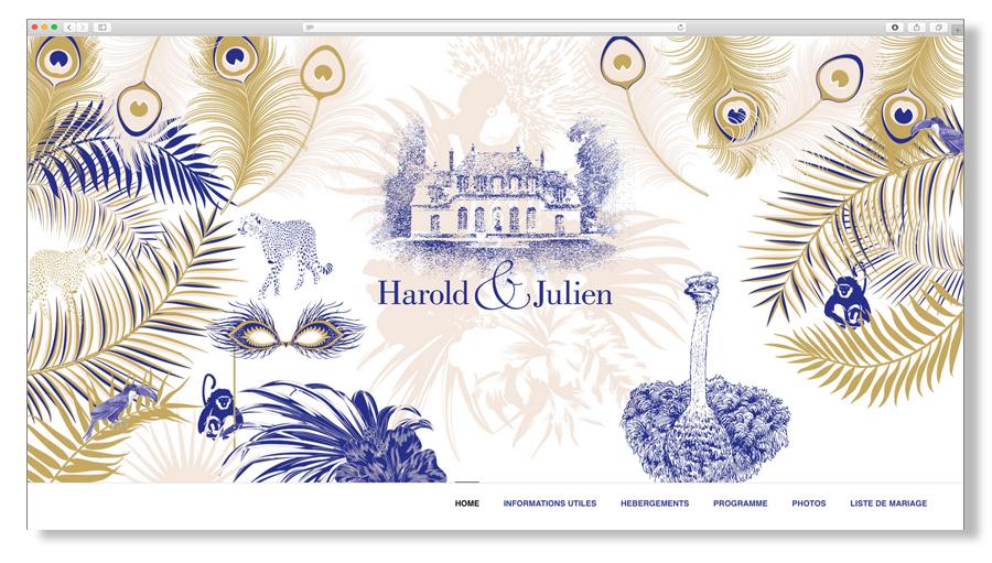 Julien & Harold - Le Mariage