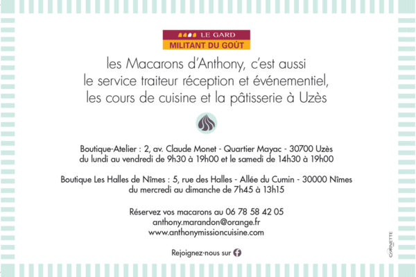 Les Macarons d'Anthony Fabrication Artisanale